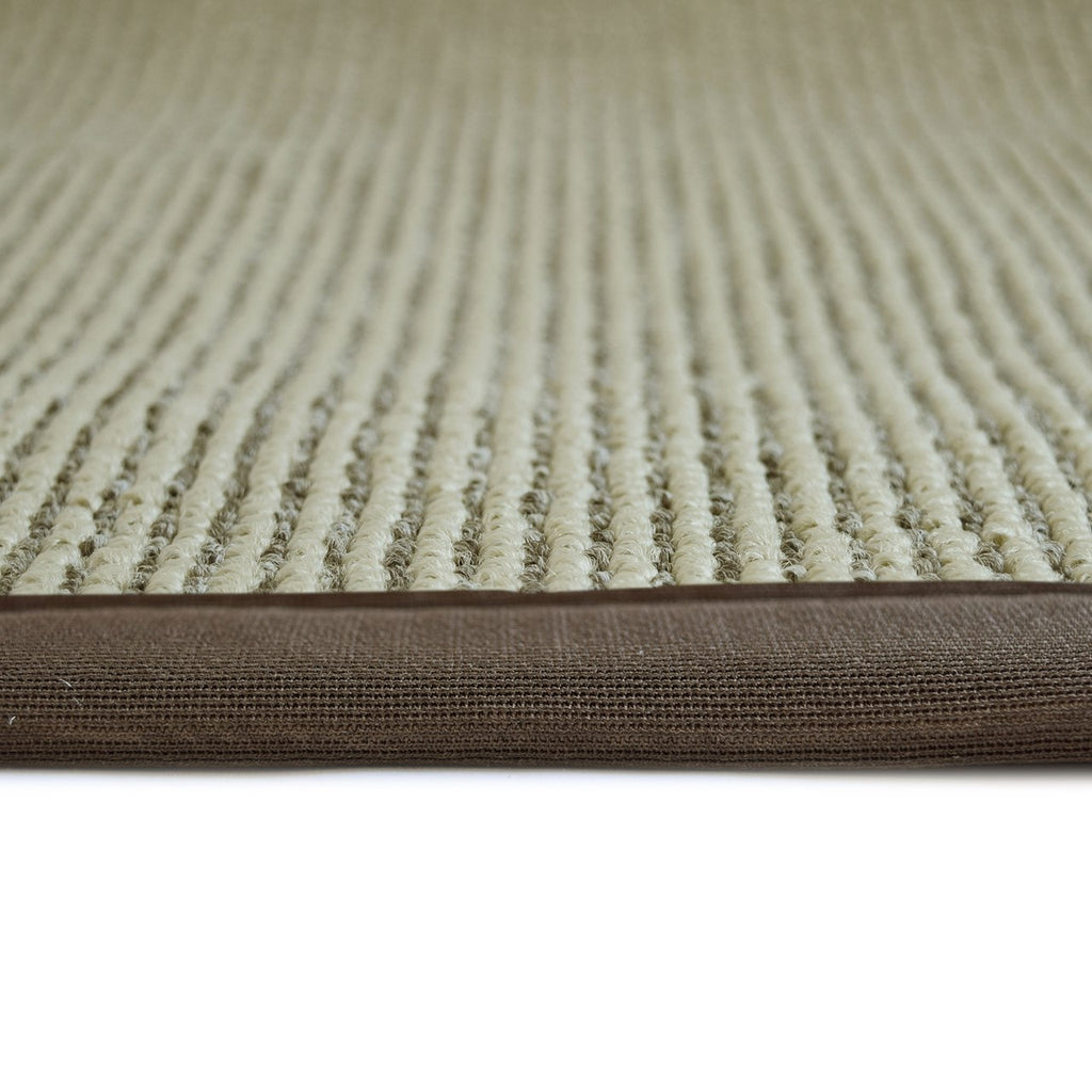 Zara Synthetic Sisal Brown