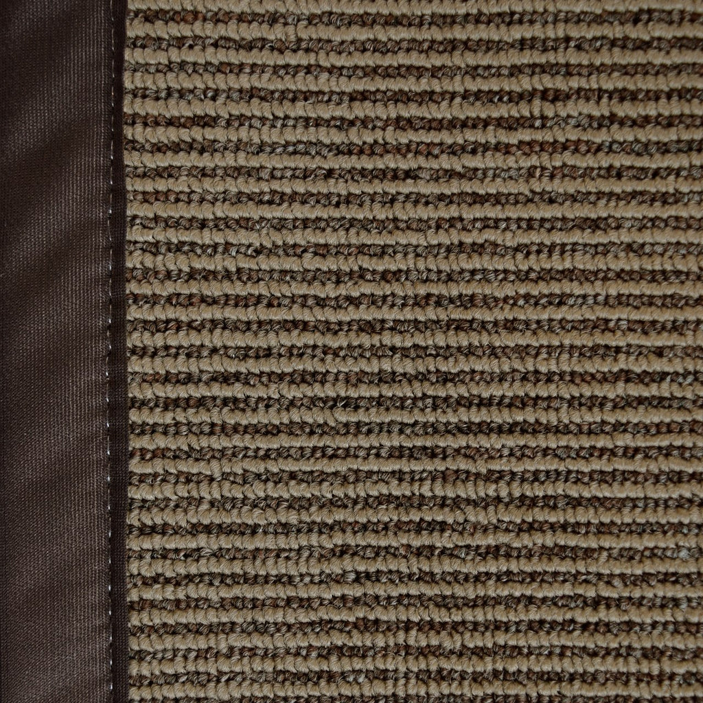 Zara Synthetic Sisal Chocolate Brown