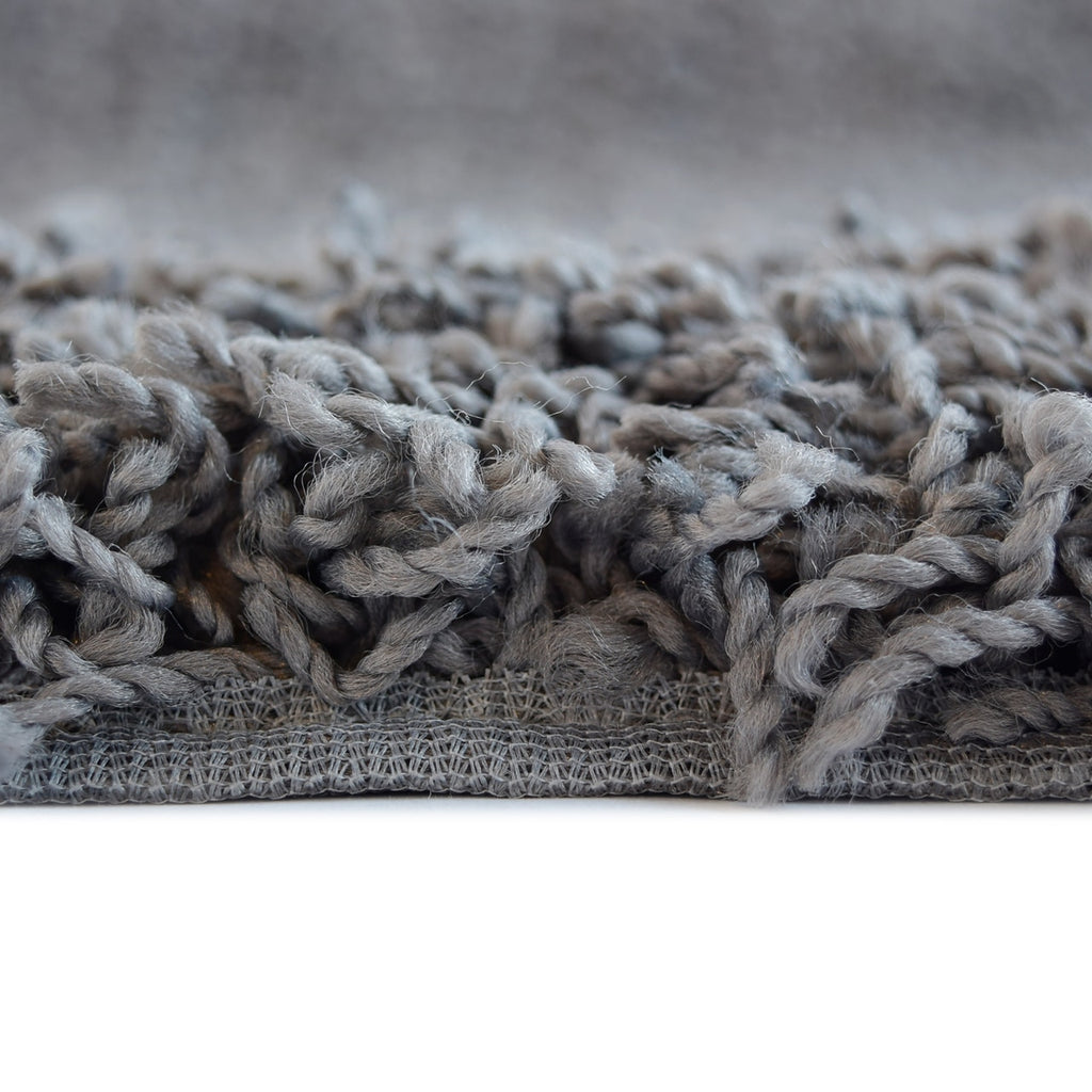 Dixie Cozy Soft and Dense Shag Charcoal