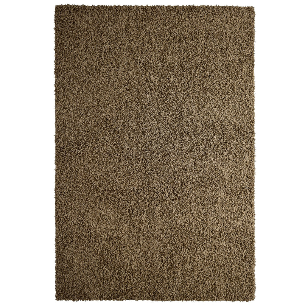 Dixie Cozy Soft and Dense Shag Taupe iCustomRug