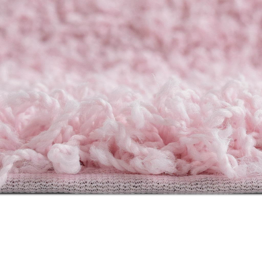 Dixie Cozy Soft and Dense Shag Pink