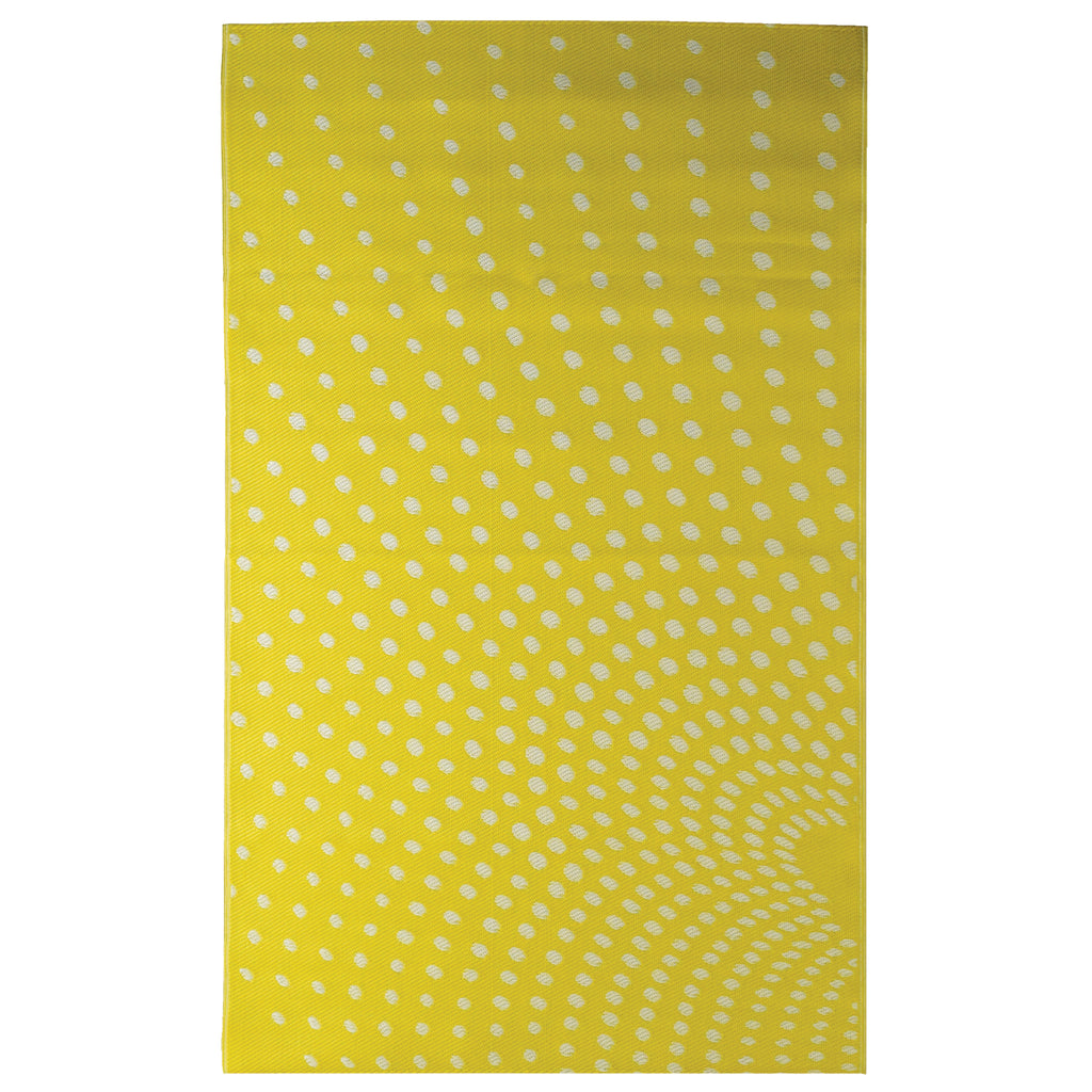 Reversible Outdoor Rug Mississippi Yellow