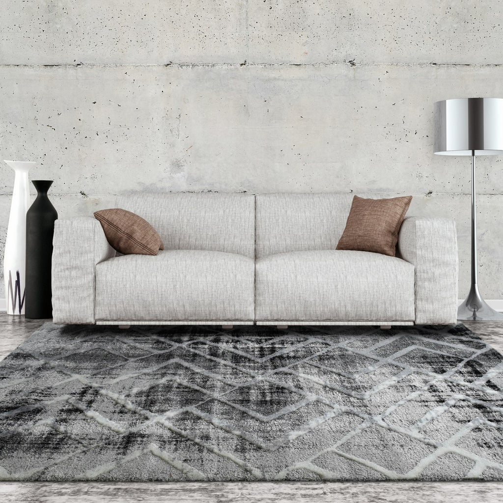 Square New Contemporary Collection Grey