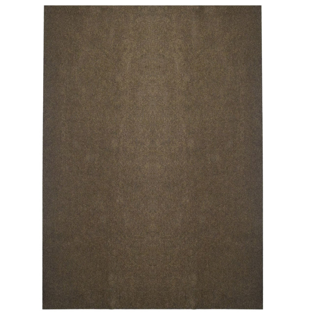 Comet Indoor/Outdoor Carpet Flooring Brown with Marine Backing
