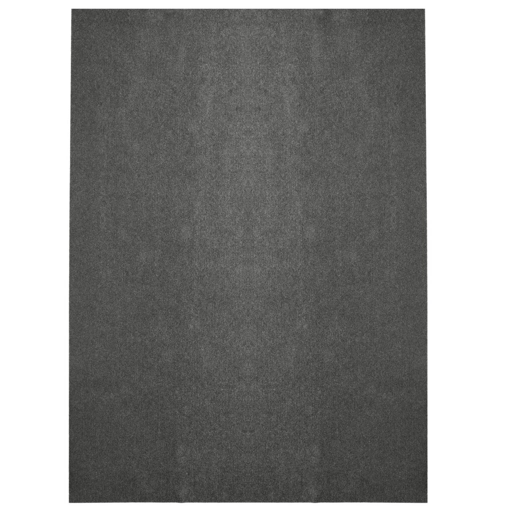 Comet Indoor/Outdoor Carpet Flooring Grey Marine Backing iCustomRug