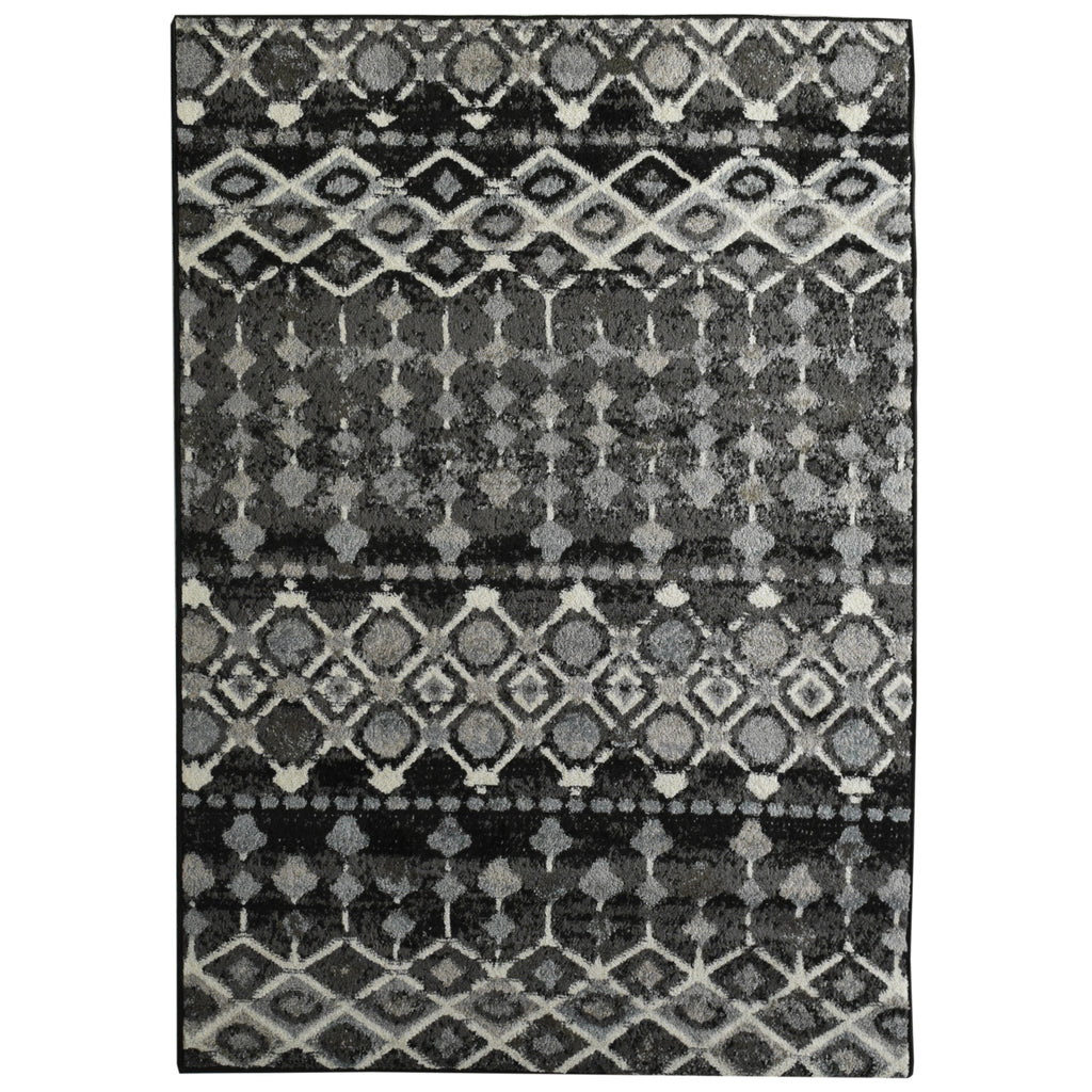 Nomadic Neutral Tone Area Rug 4' x 6' iCustomRug
