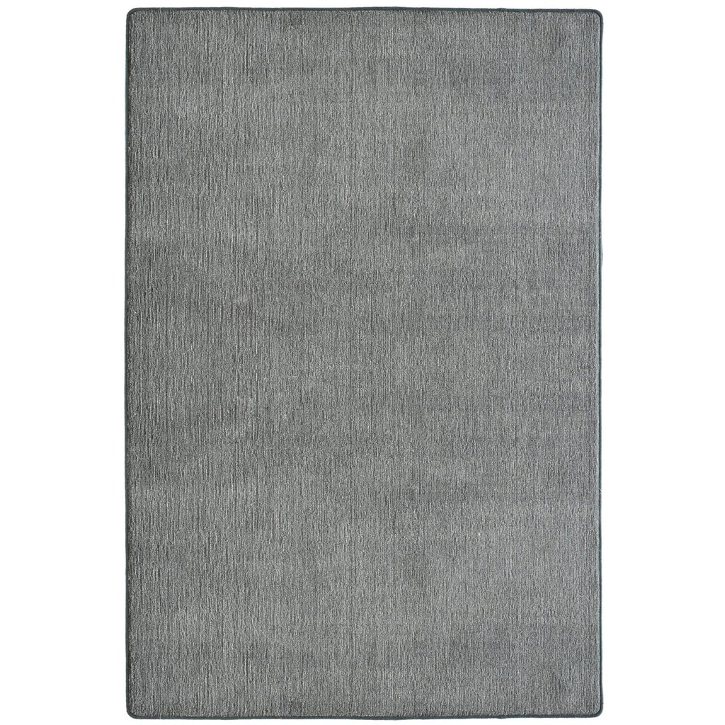 Quiet Contemporary Neutral Tone Area Rug Charcoal iCustomRug