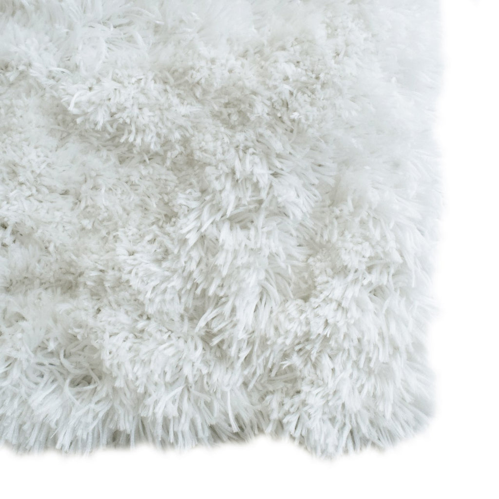 Cozy & Soft Faux Sheepskin Fur Shag Area Rug White