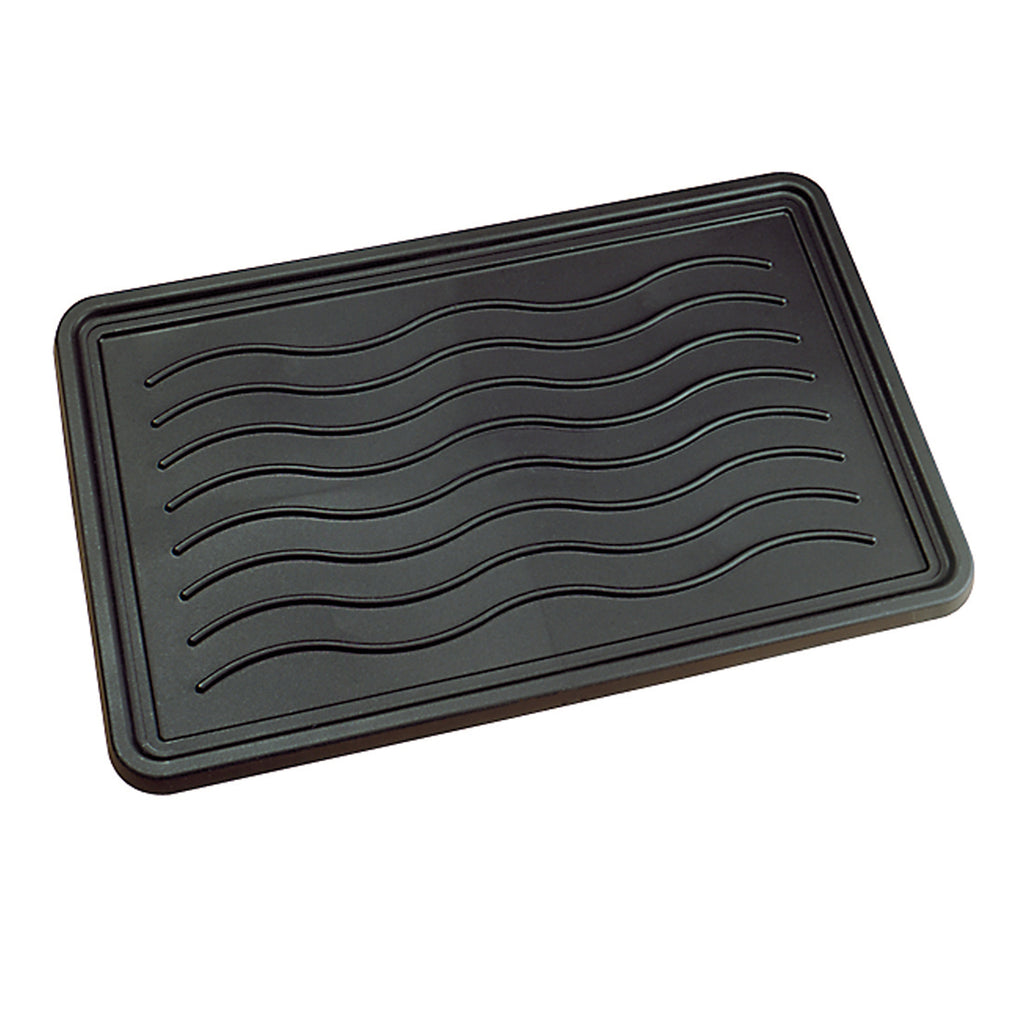 Boot Trays, Sturdy Practical Protects From Dirt And Moisture Black iCustomRug