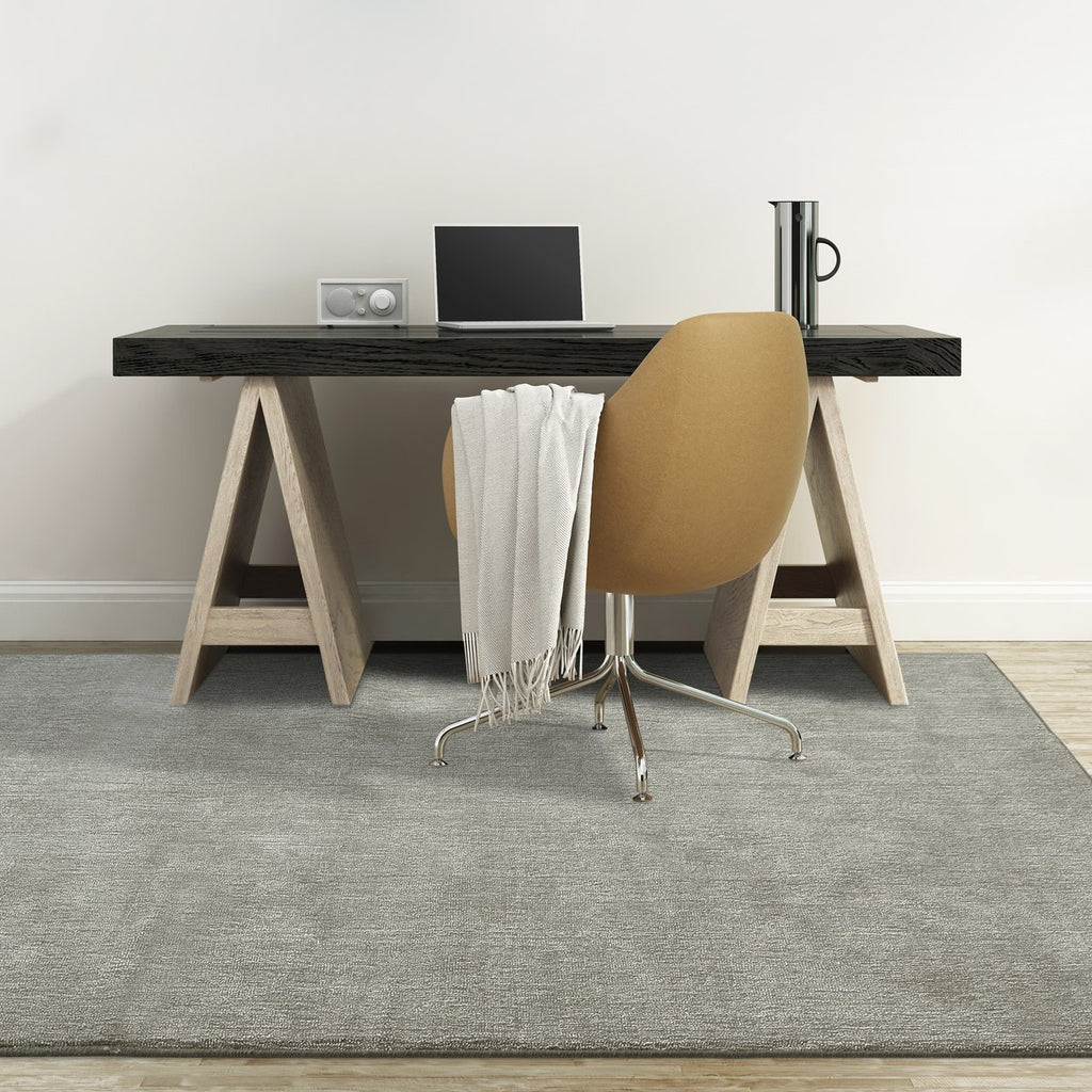 Quiet Contemporary Neutral Tone Area Rug Sand Beige