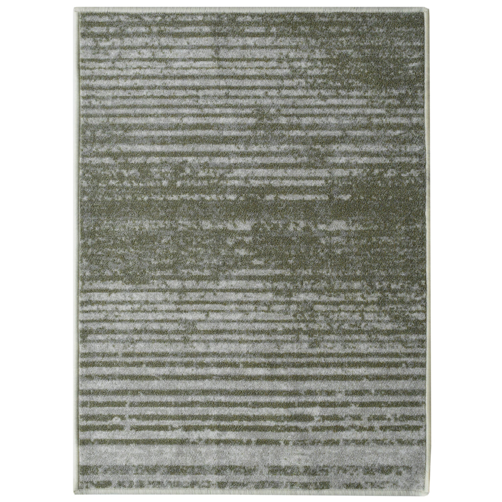 Decorative Area Rug and Carpet Runner for Stairs and Hallway, Stripe, Taupe iCustomRug