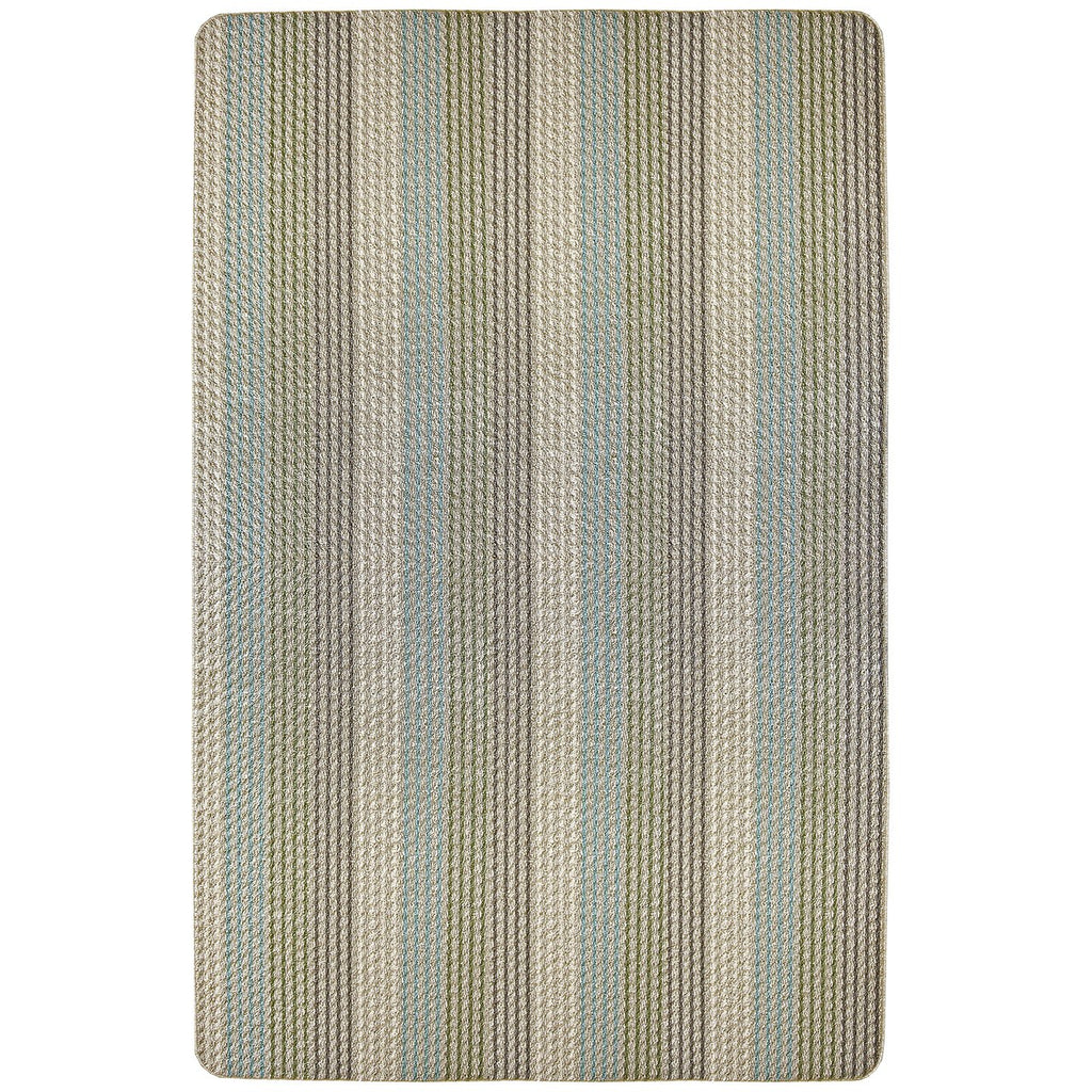 Multi Colored Loop Pile Berber Utility Rug Sand Beige iCustomRug