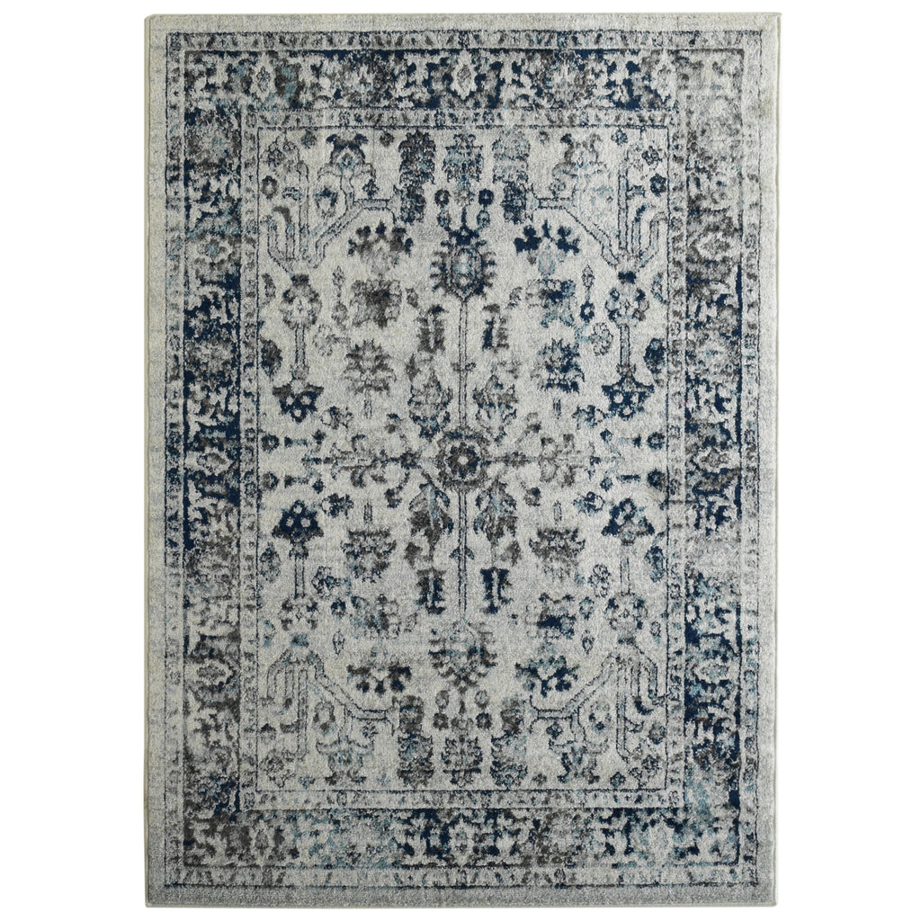 Traditionnal Neutral Tone Area Rug 4' x 6' iCustomRug