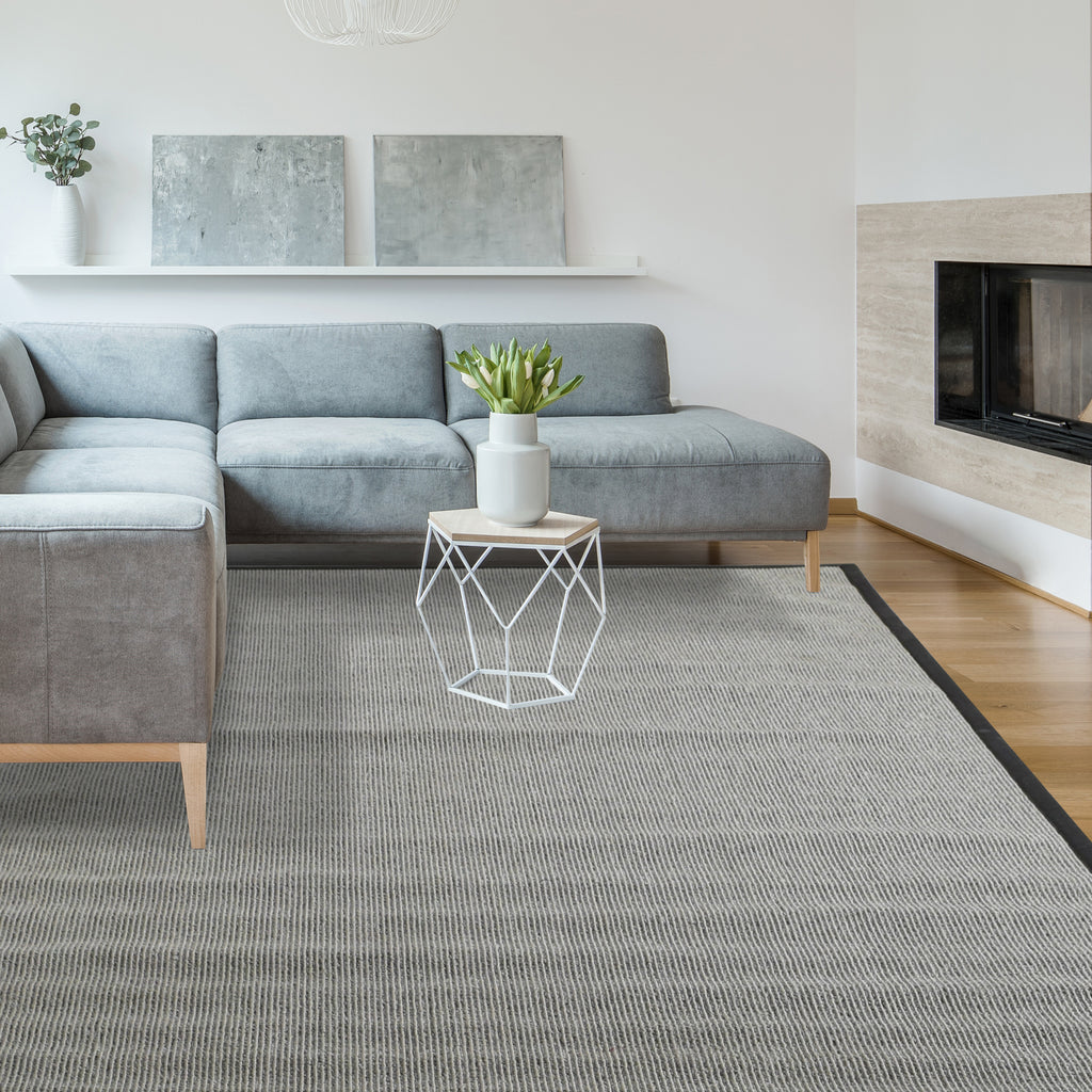 Zara Synthetic Sisal Grey