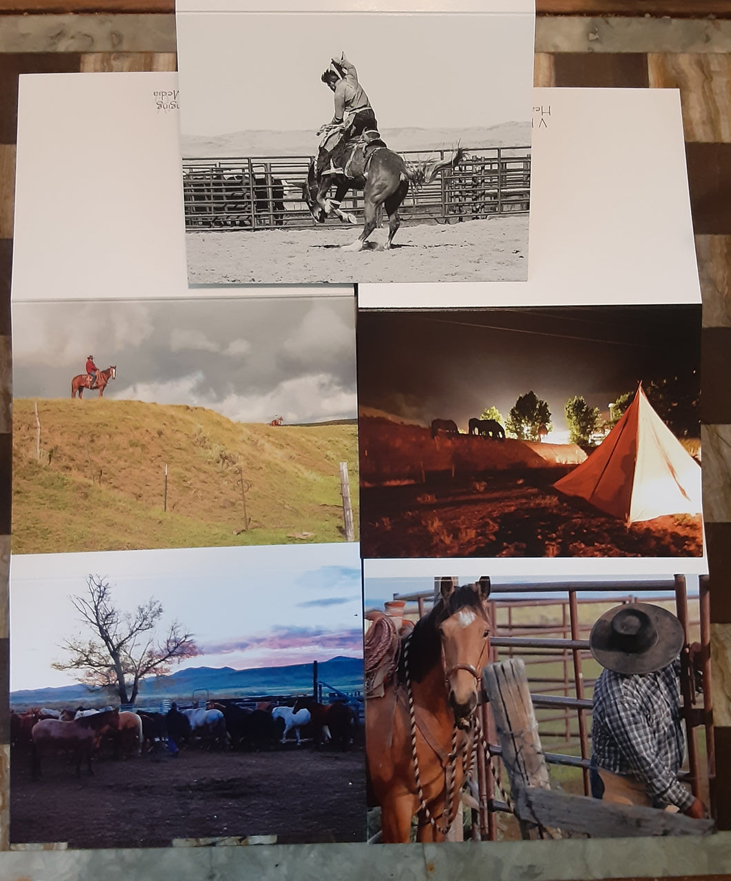 Western Note Cards