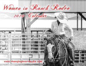 """Women in Ranch Rodeo"" 2020 Calendar"