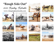 "Load image into Gallery viewer, Pre-Order ""Rough Side Out"" 2021 Cowboy Calendar"
