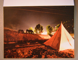 """Teepee Living"" Blank Note Card"