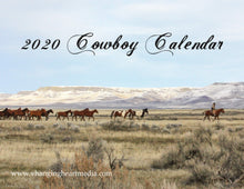 "Load image into Gallery viewer, ""2020 Cowboy Calendar"""