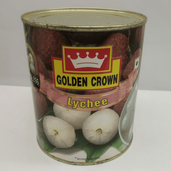 LITCHI WHOLE SEEDLESS - GOLDEN CROWN - 800gms