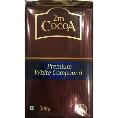 PREMIUM WHITE COMPOUND - 2M COCOA - 500gm