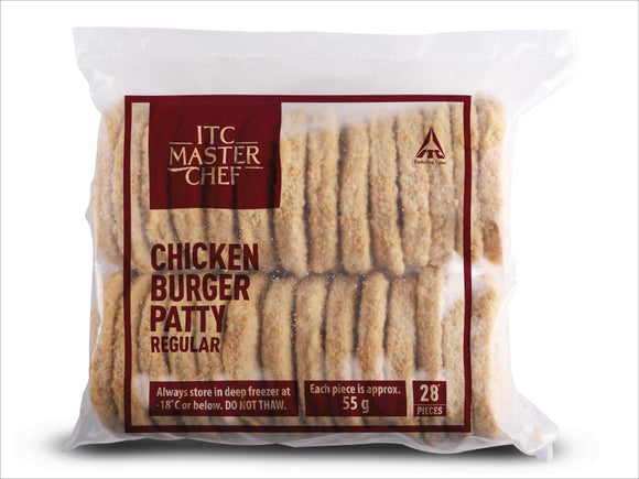 CHICKEN MINI BURGER PATTY REGULAR - ITC - 1.5KG