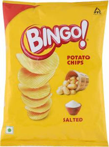 BINGO CHIPS  MRP-5 SALTED    -ITC-   180PCS  - 12GM