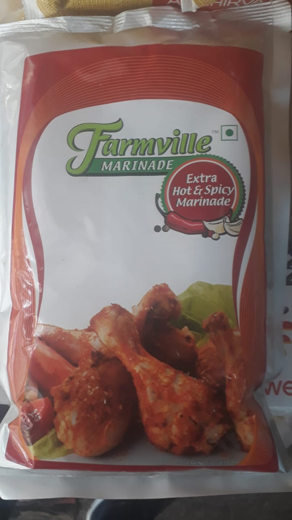 EXTRA HOT & SPICY MARRINADE - CREMICA - 1KG