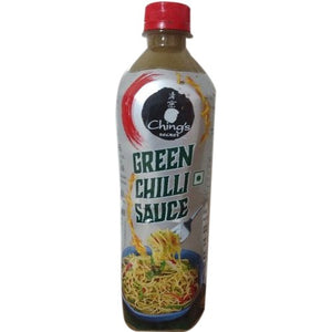 GREEN CHILLI SAUCE - CHINGS - 680GM