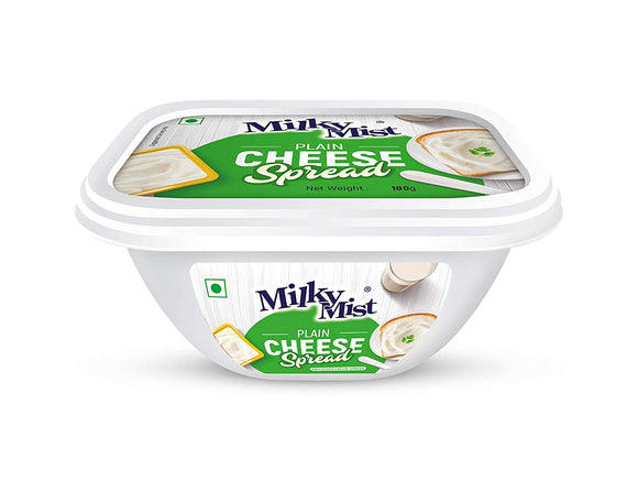CHEESE SPREAD -PLAIN- MILKYMIST - 180GMS