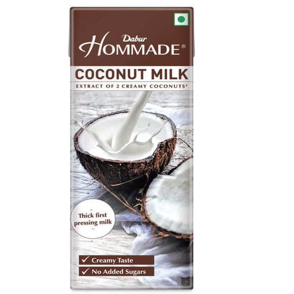HOMMADE  COCONUT MILK - DABUR - 200ML