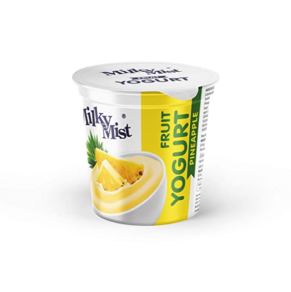 FRUIT  YOGHURT -PINEAPPLE - MILKYMIST - 100G -5PK