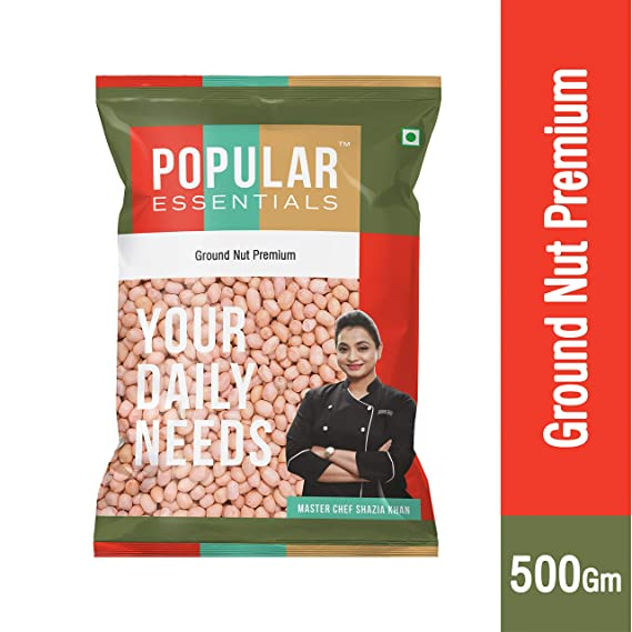 PREMIUM  GROUND NUT -  PEANUT  - POPULOR - 1KG