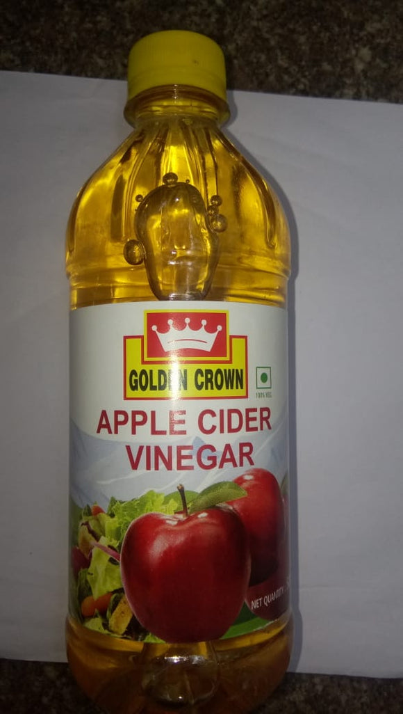 APPLE CIDER NATURAL VINEGAR - GOLDEN CROWN - 500ML
