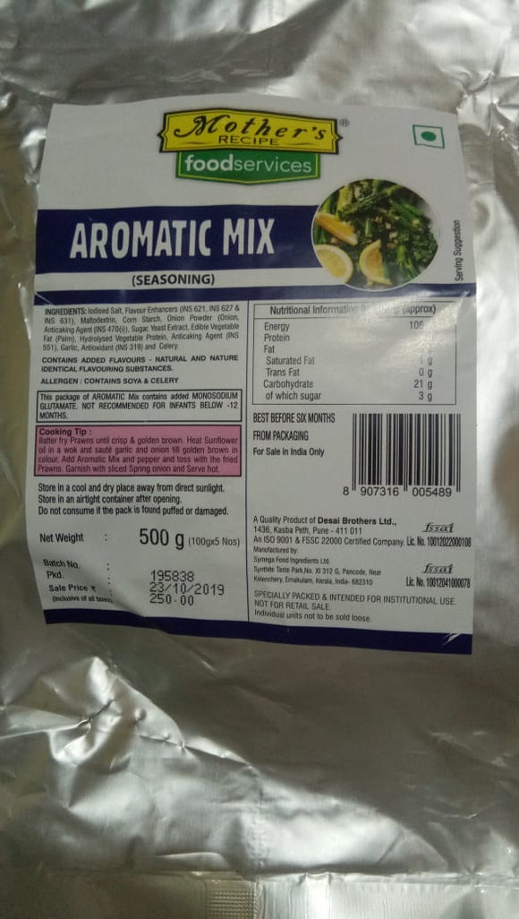 AROMATIC SEASONING - MOTHERS - 500GM