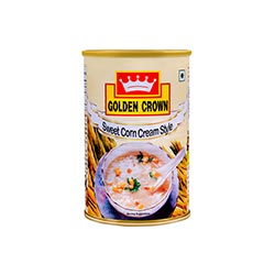 SWEET CORN CREAMY STYLE -GOLDEN CROWN - 400gm