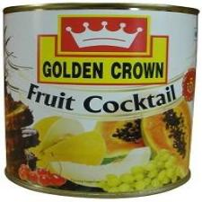 FRUIT COCKTAIL - GOLDEN CROWN - 840GMS