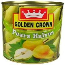 PEARS IN SYRUP - GOLDEN CROWN - 840gm