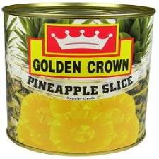 PINEAPPLE SLICES - GOLDEN CROWN - 840gm
