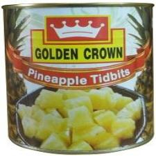 PINEAPPLE TIDBIT - GOLDEN CROWN - 840gm