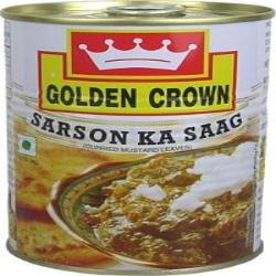 SARSON KA SAAG - GOLDEN CROWN - 450gm