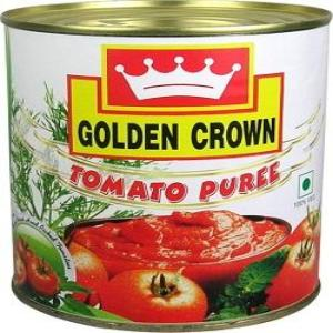 TOMATO PUREE - GOLDEN CROWN - 850GMS