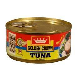 TUNA IN BRINE - GOLDEN CROWN - 185gm