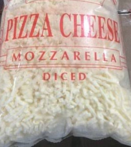 DICED PIZZA MOZERALLA CHEESE ANALOGUE SONAI-DAIRY-2kg