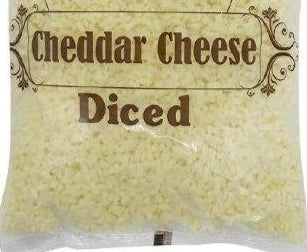 DICED CHEDDAR NATURAL CHEESE  SONAI DAIRY-2kg