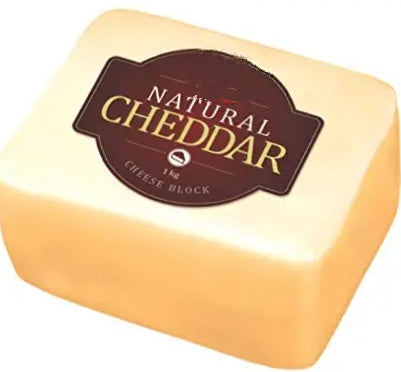 CHEDDAR NATURAL BLOCK REGULAR (OFF WHITE) SONAI DAIRY-1kg