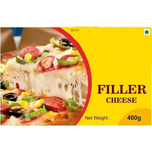 PROCESSED PIZZA FILLER CHEESE-SONAI DAIRY-400 gm
