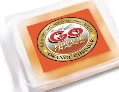 ORANGE CHEDDAR CHEESE BLOCK-GOWARDHAN
