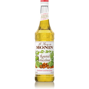 HAZELNUT SYRUP - ROASTED - MONIN - 1 LTR