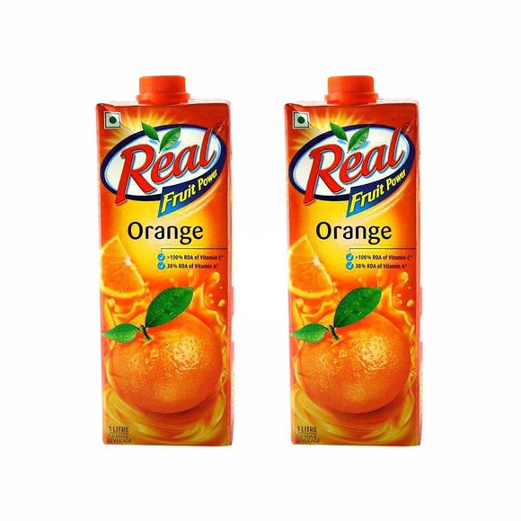 ORANGE JUICE - REAL - 1L - 6PK